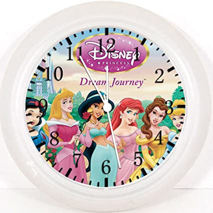 "Disney Princess Wall Clock 10"" Will Be Nice Gift and Room Wall Decor W228"