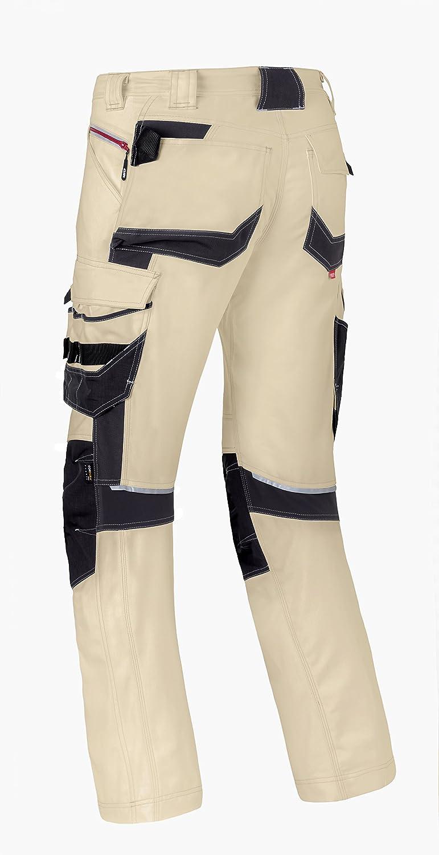 80229.MREYIH-55 TrousersAttitude80229 Size Sand//Grey 38//36 Sand//Charcoal Grey Havep