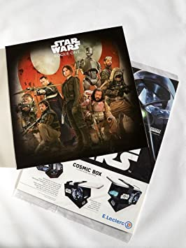 STAR WARS COSMIC SHELLS LECLERC 2016 ROGUE ONE ALBUM COMPLET