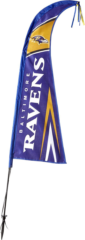 "Fremont Die NFL Unisex 44"" Feather Flag"