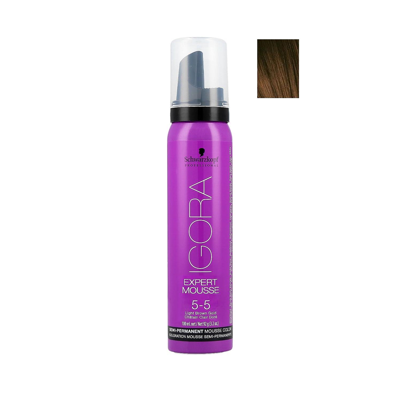 Schwarzkopf Professional Igora Expert Mousse Espuma Coloración 5.5-100 ml Henkel Professional 4045787184402