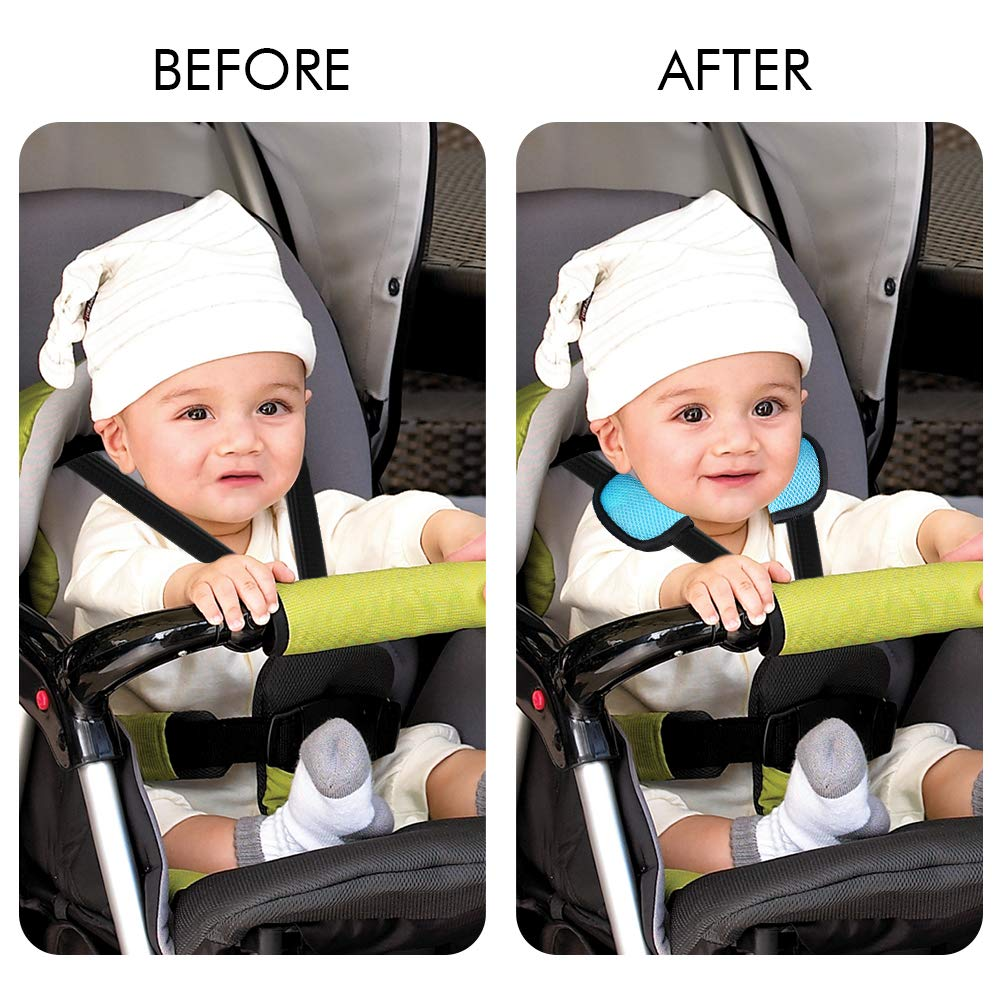 Baby Car Seat Strap Covers Suit By Accmor Stroller Belt