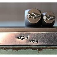 Brand New 7mm Large Hemp Pot Leaf Metal Punch Design Stamp CH-386 Supply Guy