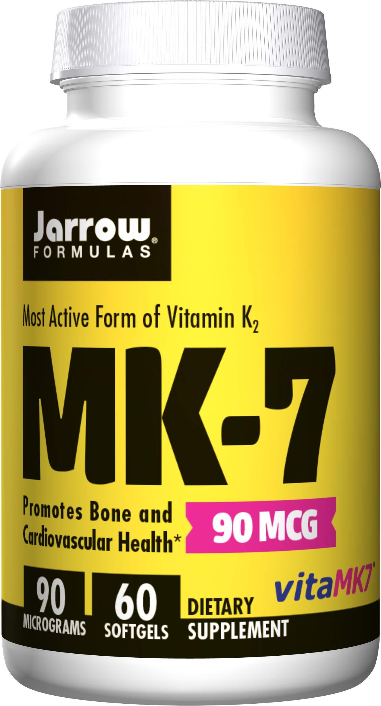 Jarrow Formulas MK-7, Promotes Bone Health, 90 mcg, 60 Softgels