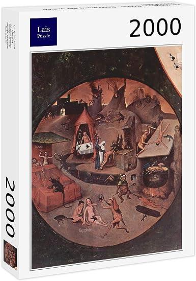 Lais Puzzle Hieronymus Bosch - Castigo de los Siete pecados Capitales 2000 Piezas: Amazon.es: Juguetes y juegos