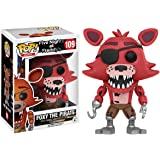 Foxy The Pirate: Funko POP! x Five Nights at Freddy's Vinyl Figure + 1 Official FNAF Trading Card Bundle (110327)