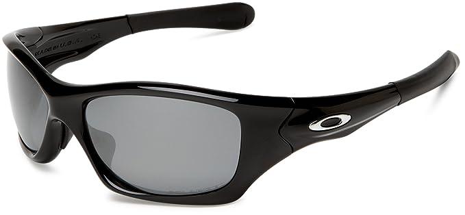 Oakley Herren Sonnenbrille Pit Bull, polished black/black iridium  polarized, OO9127-06: Oakley: Amazon.de: Sport & Freizeit