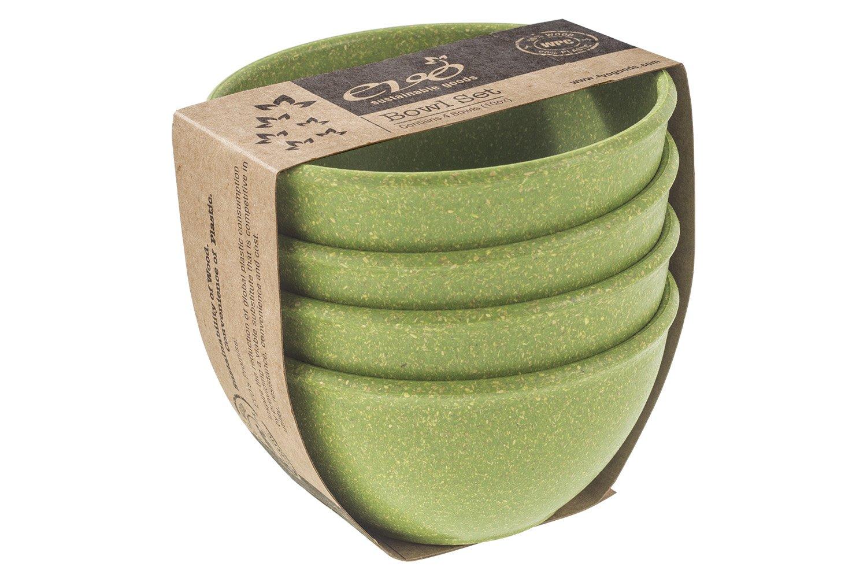 EVO Sustainable Goods 10 oz. Bowl Set, Green
