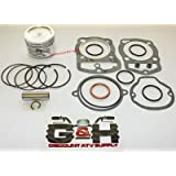 80.25mm Shindy Piston /& Rings Kit for the 2003-2013 Kawasaki KVF 360 Prairie Standard Size 80.00mm 1st Oversize