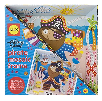 Amazon.com: ALEX Toys Craft Bling Along Frames, Pirate: Toys & Games