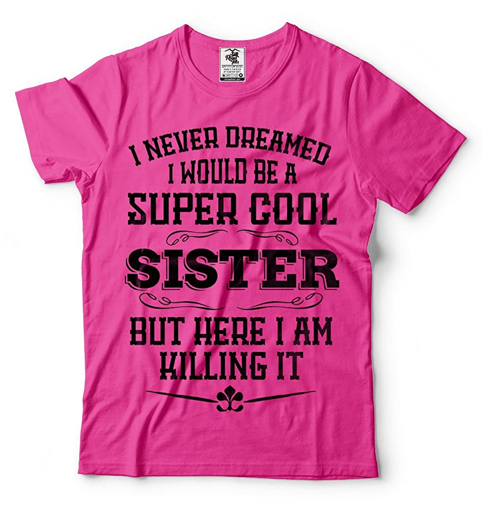 Amazon Sister T Shirt Cool Birthday Gift Ideas For Tee Clothing
