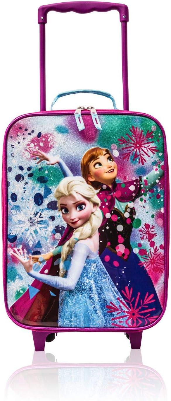 Disney Frozen Rolling Luggage Trolley Anna and Elsa