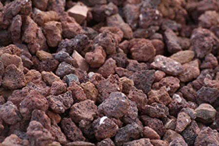 Gravilla Volcanica (Big bag de 1.000 kg.) (12-24 mm., Roja): Amazon.es: Jardín