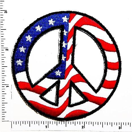 Bandera de la Paz Hippie no violencia y convivencia para ...