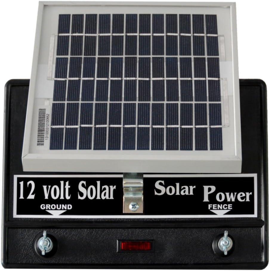 Solar Fence Charger 12 Volt 2 Joule/Free Lightning Diverter