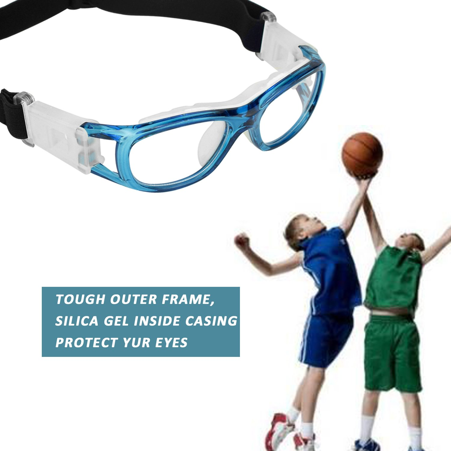 ae65f0fa5e2 Elemart (TM ) Unisex Kids Sport Glasses Anti-fog Protective Safety Goggles