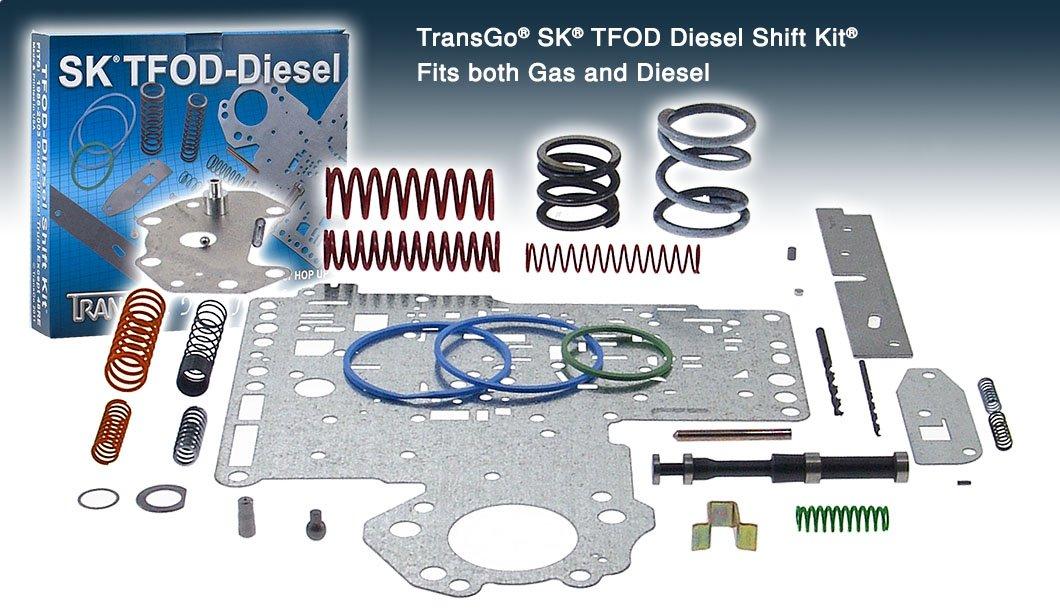 Transgo SK TFODDSL Shift Kit (Diesel) (OD) A518 Transmaxx