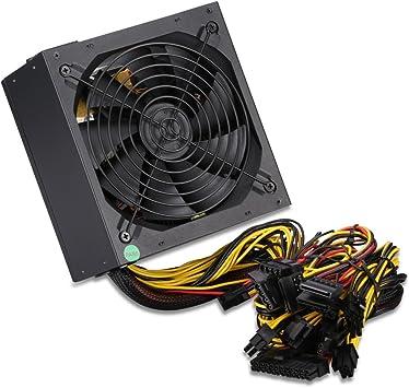 Excelvan 850W - 850W Fuente de Alimentación de Ordenador PC ...