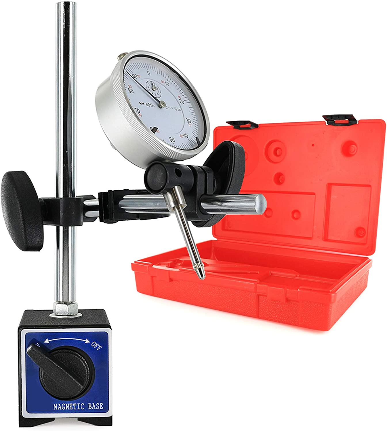 Magnetic Base Holder Stand for Dial Test Indicator Gauge ON//OFF 132 lbs
