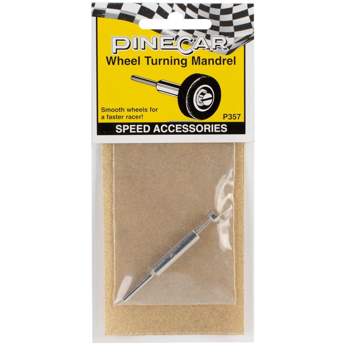 P357 Pine Car Derby Speed Accessories, Wheel Turning Mandrel