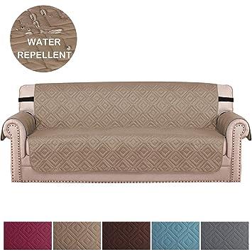 bellahills dreisitziges sofabedecke fur wohnzimmer rutschfeste wildlederartige sofabezug fur mobel ideale sofabezug fur haustiere und