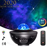 STARRY PROJECTOR LIGHT X7-Pro Star LED Galaxy Ocean Wave Projector Bluetooth Music Speaker for Baby Bedroom,Game Rooms…