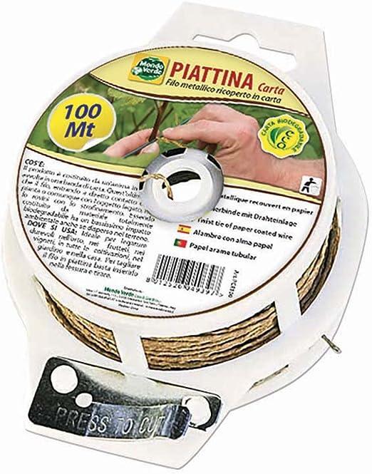 mondo verde Cable plano de papel dispensador 100 Mt Para ...