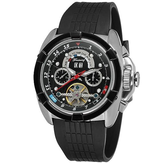 Reloj Forsining automático de pulsera para hombre con calendario FSG291M3T3: Amazon.es: Relojes