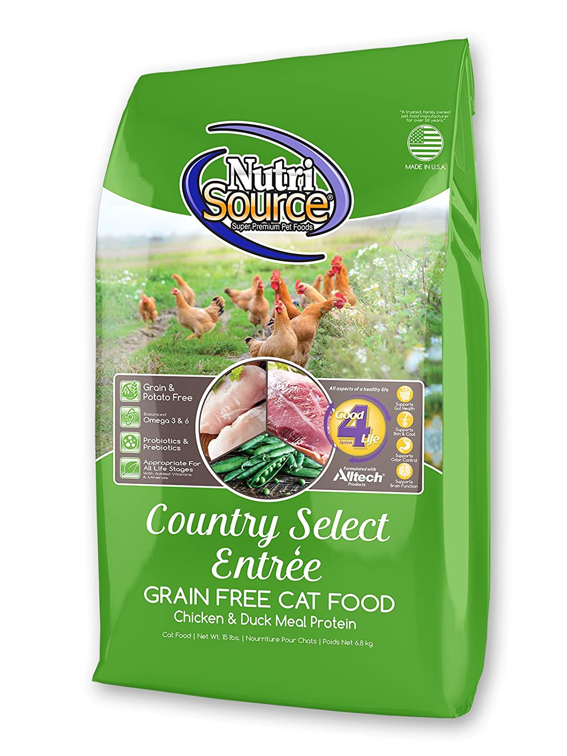 1-Pack NutriSource NS GF Country Select Cat 2.2