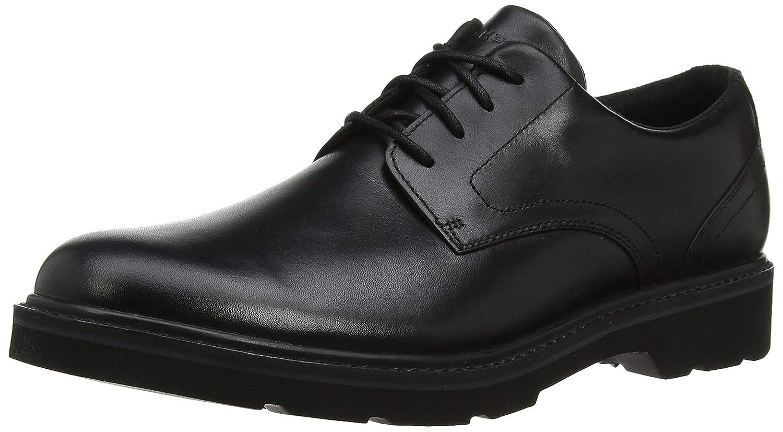 TALLA 44.5 EU. Rockport Charlee Plain Toe Shoe, Zapatos de Cordones Derby para Hombre