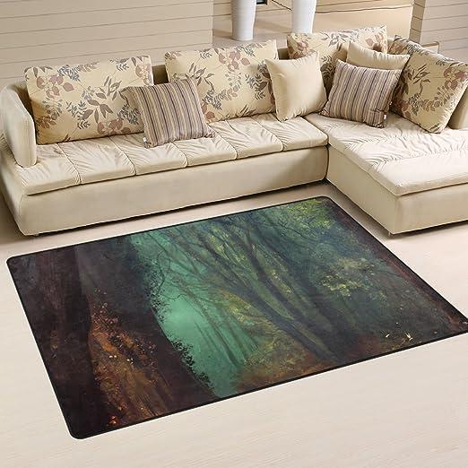 Amazon De Jstel Ingbags Super Weich Moderner Wald Teppiche