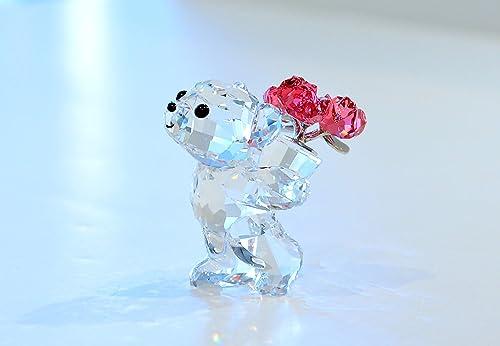 Swarovski Kris Bear-say It with Roses