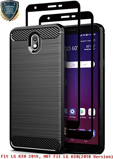 Amazon Com Lg K30 2019 Case Lg Arena 2 Case Lg Tribute Royal Case With Tempered Glass Screen Protector 2 Pack Teayoha Soft Tpu Protective Cases Cover For Lg Escape Plus Lg Neon Plus Lg Journey