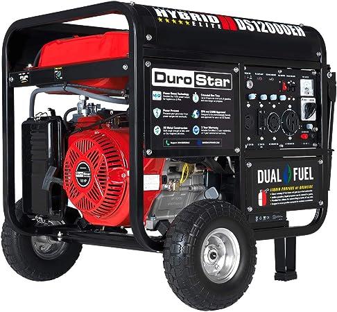 Amazon.com: Durostar DS12000EH generador portátil de ...