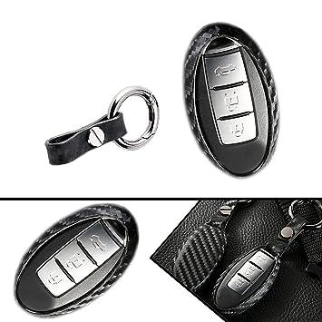 Kaizen Keyless Entry Remote Cover Smart Key Rubber Case Fob Holder Shell  2/3/4 Button For Nissan 350/370Z Juke GT-R Qashqai Infiniti Q30/50/70