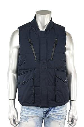 82c6a26c862f Jordan Craig Men s PU Coated Puffer Vest from at Amazon Men s Clothing store