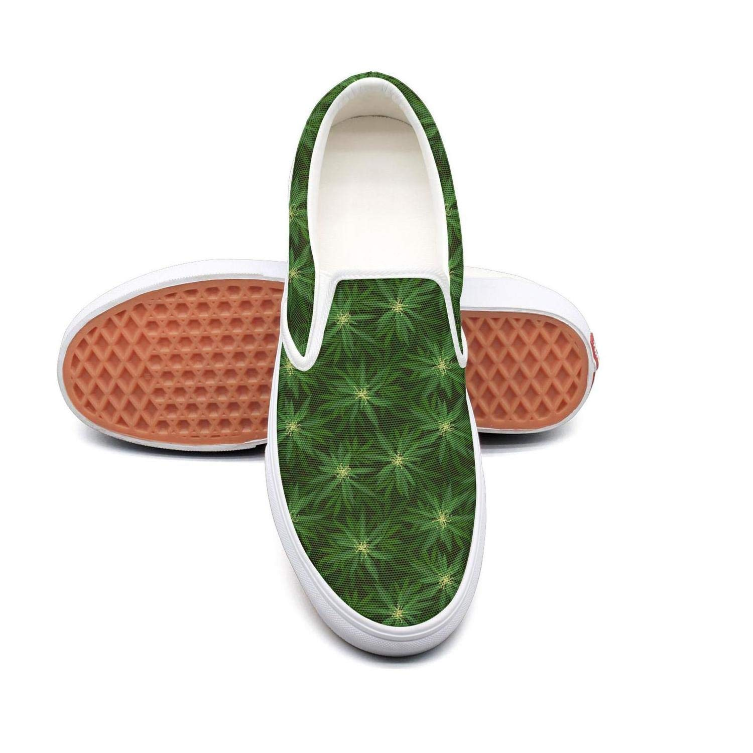SKULLP cannabis and coca pattern Tennis Shoes for Men new Quick-Drying Best Running Shoes