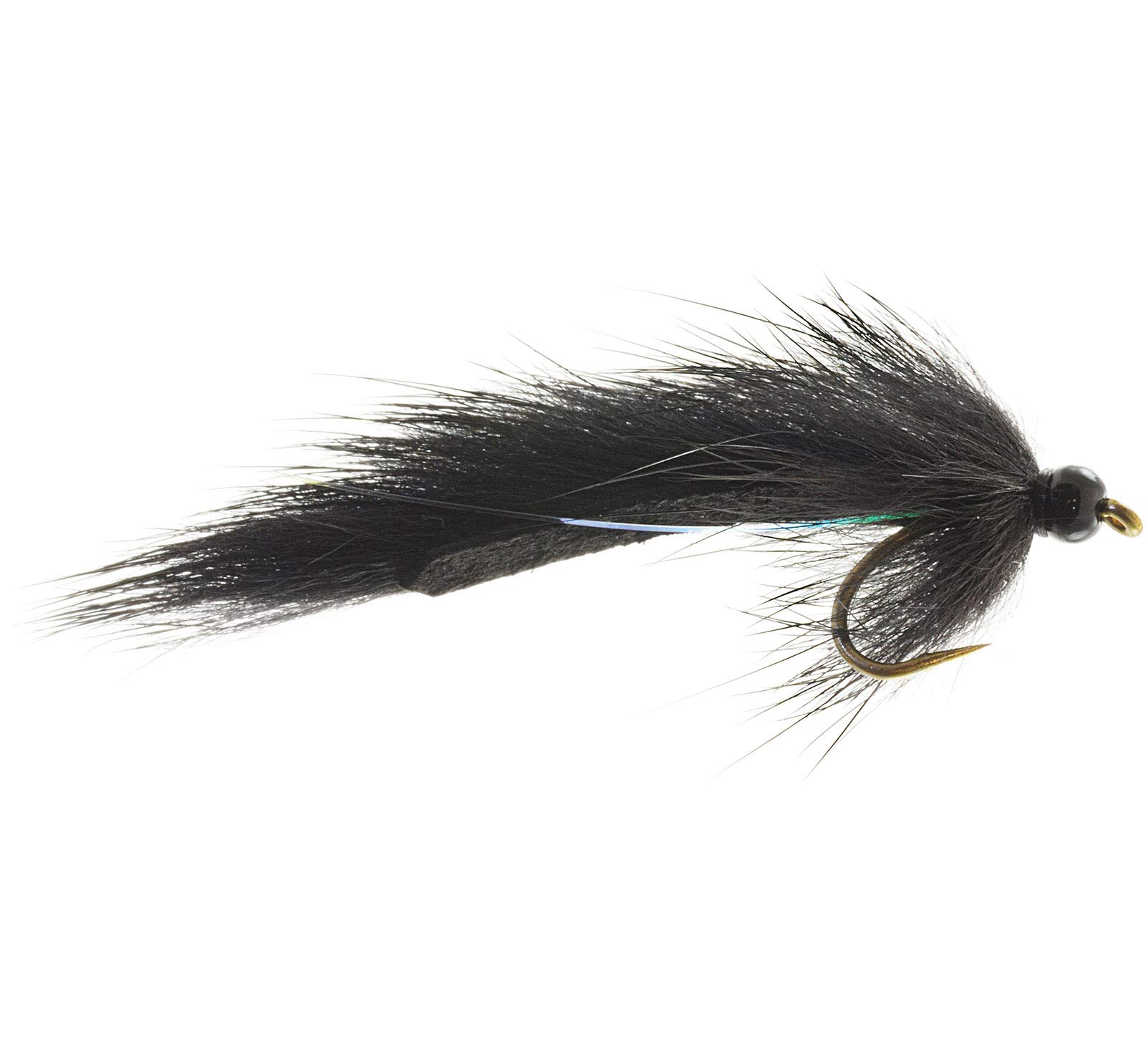Umpqua Pine Squirrel Leech Black 12 12 Pack