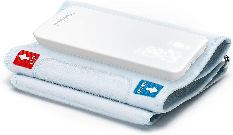 iHealth NEO BP5S - Tensiómetro de brazo con red, color blanco
