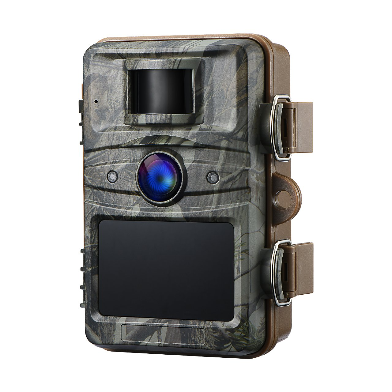 Qtuo 防犯カメラ トレイルカメラ 野外監視カメラ 暗視カメラ 1080P撮影 30FPSビデオ 12MP解像度 低光赤外線技術 2.4LED搭載 自動検知 高感度CMOSセンサ IPX6防水 防塵 低光赤外線 日本語説明書付き 18ヶ月保証付き B076ZLRF85