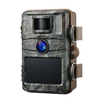 VicTsing Cámara de Caza Cámara FullHD 12 MP 1080P de vigilancia Nocturna por Infrarrojos con 44