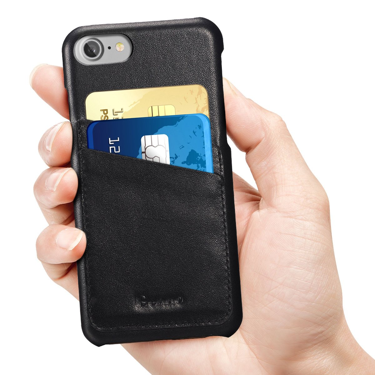 Amazon.com: iPhone 8 Case,iPhone 7 Case, Benuo [Card Slot Vintage ...