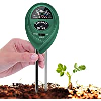 T Tersely 3-in-1 Soil pH Meter, Plant Soil Tester Kit with Moisture,Light and PH Test for Garden Farm Lawn, Indoor…