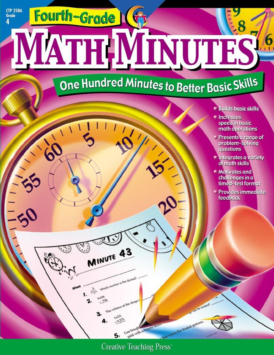 Amazon.com: Math Minutes, 4th Grade (9781574718157): Alaska Hults: Books