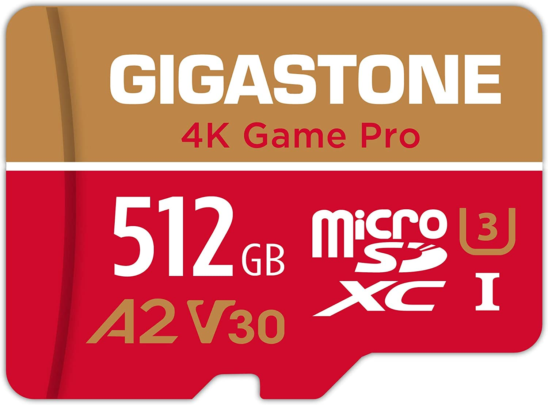Gigastone 512gb Micro Sd Card 4k Game Pro Nintendo Computers Accessories