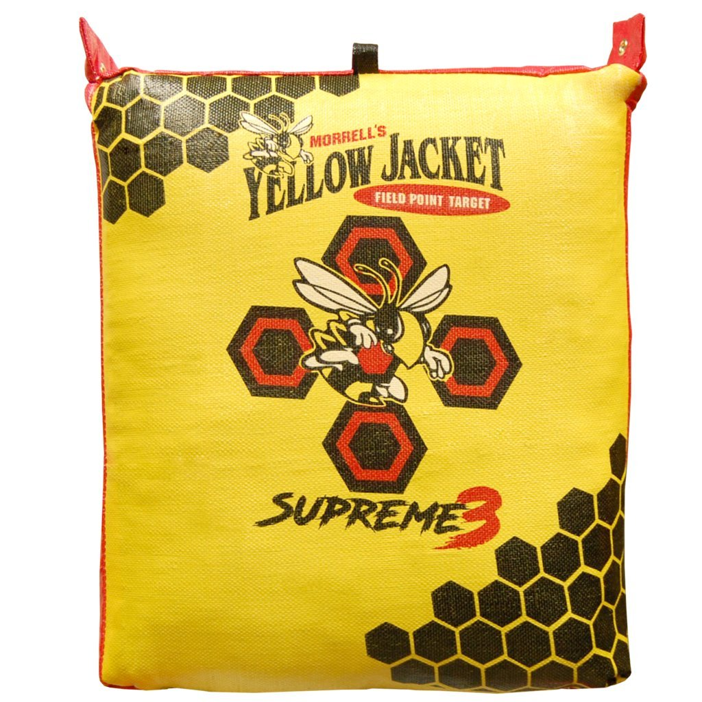 Yellow Jacket Supreme 3 Field Point Target & Bowtree Bag Stand Combo by BowTree (Image #1)