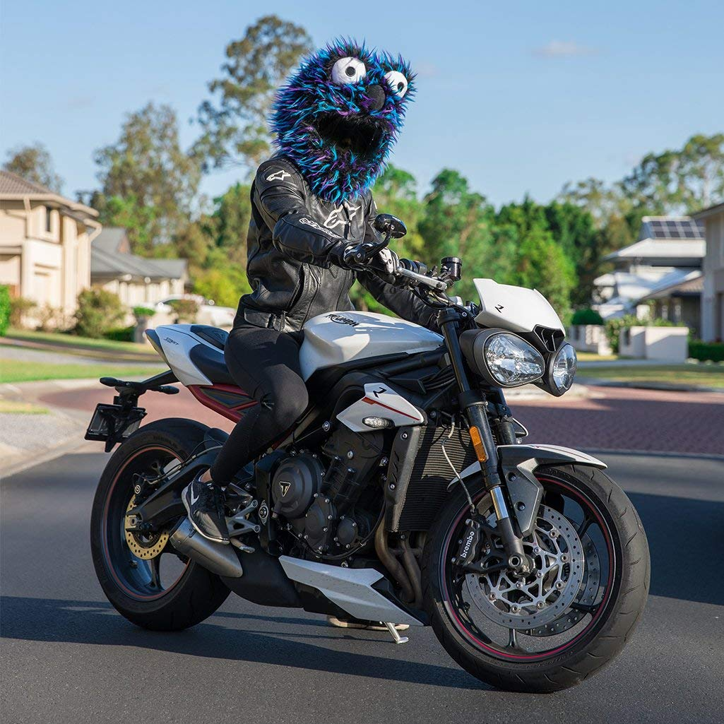 - Panda Moto Loot Helmet Cover for Motorcycle Helmet Cover Only. Helmet Not Included Fun Rides and Gifts