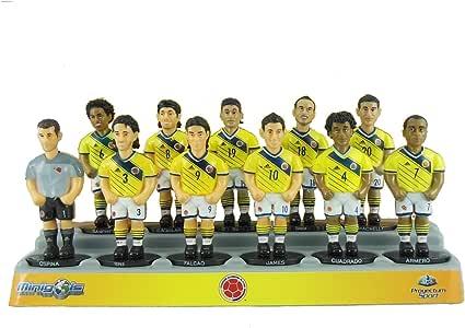 Figuras de equipo para futbolín Minigols - 5COL-2014-2: Amazon.es: Deportes y aire libre