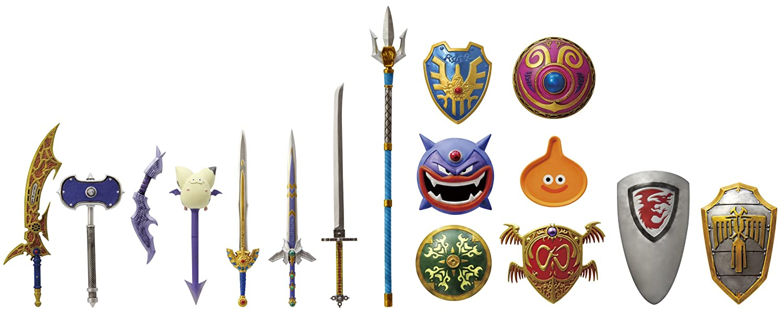 Dragon Quest - Legend Item Gallery NEO Wearable (8pcs) (japan import)