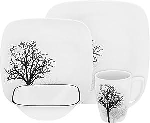 Corelle Square Timber Shadows 16-pc Dinnerware Set